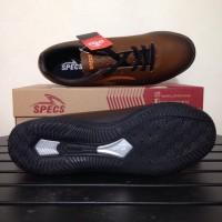 SALE Sepatu Futsal Specs Eclipse IN Black Bitter Brown 400676 Original