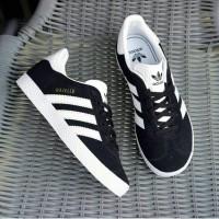 Sepatu Adidas Gazelle Original Indonesia Black Blue White