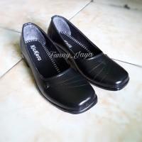 Sepatu Fantofel Wanita Formal Resmi Pantopel Cewek Pantofel Hitam