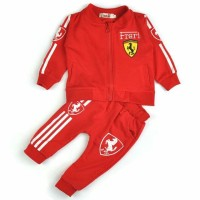Baju / Pakaian Anak Set Baju dan Celana Ferrari
