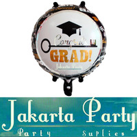 Balon Foil Congrats Grad / Balon Foil Graduaion / Balon Wisuda