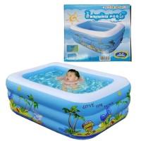 Baby Padding Swim Pool 120cm. Kolam Renang Karet Anak SL-C014
