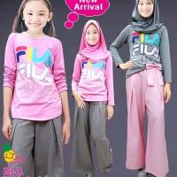 Little Pineapple Baju Muslim Anak Celana Kulot Fila 563-11