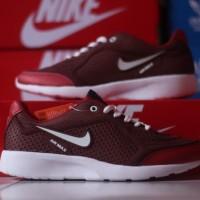 Sepatu Nike Airmax Running - Merah Putih Sport Casual Gym Wanita Pria