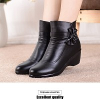 sepatu boots wanita/ankle boot for women/winter boots/leather boots