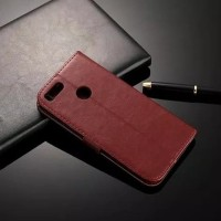 Flip Cover Xiaomi Mi A1 / Mi 5x Wallet Leather Case - Casing Kulit