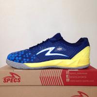 SALE Sepatu Futsal Specs Metasala Knight Galaxy Blue Yellow 400731 Or