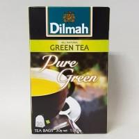 DILMAH Pure Green Tea 20 bags 30 gr