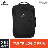 Eiger Habile Trilogic Laptop Backpack 25L - Black