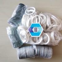 Bahan Baku Gantungan Kunci pin Miror / Kaca uk. diameter 58 mm