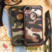 Army Armor Case Apple iPhone 5 5s Soft & Hard Softcase Casing Cover