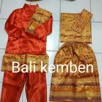 Baju adat anak bali (couple)