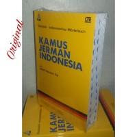 Kamus Bahasa Jerman Indonesia ( Soft Cover ) Adolf Heuken