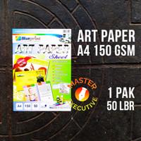 Blueprint Art Paper Sheet A4 150 gsm 50 lbr / Kertas Foto Brosur