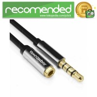 JINSHOUWEI Kabel Aux Audio Extension 3.5mm Male to Female 2M - 200 CM