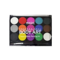 Magic Collection - Body Art Face & Body Painting Kit FAC-402
