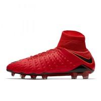 Sepatu Bola Nike Hypervenom Phantom III DF FG Uniersity Red Original