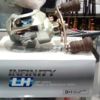 Reel Baitcasting BANAX Infinity LH Silver List Blue Double Anodized