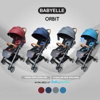 Baby Stroller BabyElle Orbit S380 - Merah