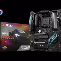 Mb Motherboard MSI X370 GAMING PRO Carbon Amd RYZEN AM4