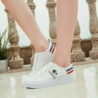 HOT - Sepatu Wanita Kets Casual Kumis SDS205