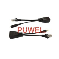 POE adapter cable Injector Splitter cctv network IP camera Kabel FB63