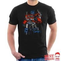 Transformers Optimus Prime Clenched Fist Baju Kaos Semua Warna