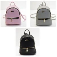 Backpack punggung mini import - Tas ransel wanita kulit kecil F130