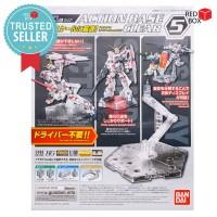 Action Base 5 Clear Bandai Gundam Gunpla Display Stand SD HG RG MG