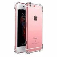 Softcase Anticrack Apple iPhone 5 5s SE 6 6s 7 8 X Casing Case Bening