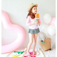 Baju Renang Anak Bayi Cewek Flamingo Lucu Swimwear Fashion Import