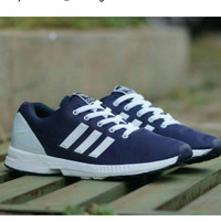 Sepatu Sneaker Adidas ZX Flux Navy Pria
