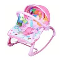 Pliko PK-306 Piccola Rocking Chair Pink / Bouncer