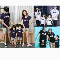 Promo Diskon Baju Couple Family Fila 2 Anak