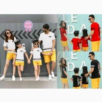 Promo Diskon Baju Couple Family Fila 2 5338 Anak