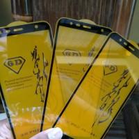 TEMPERED GLASS WARNA 6D SAMSUNG J6 PLUS ANTI GORES FULL J6PLUS J6+