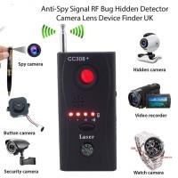 Bug Detector Anti Spy Hidden Camera GSM GPS Signal Finder RF Tracker