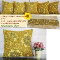SARUNG BANTAL SOFA SHABBY /MINIMALIS/SARUNG BANTAL KURSI/MANOHARA GOLD