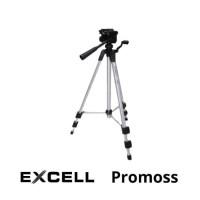 Tripod/monopot EXCELL Promoss (Silver/hitam) Ready Stok