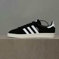 Sepatu sneakers CAMPUS SUADE BlACK Adidas