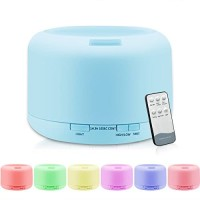 Essential Oil Aroma Diffuser Humidifier 7 LED Color with REMOTE 500ML