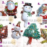 Balon Foil Christmas / Balon Xmas / Balon Natal MINI Size