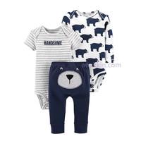 Original Carters 3in1 Casual Set - Handsome / baju anak / setelan bayi