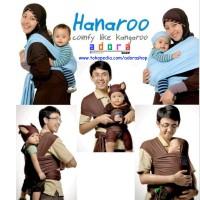 HANAROO BABY WRAP / GENDONGAN ANTI PEGAL HANAROO POLOS MURAH SURABAYA