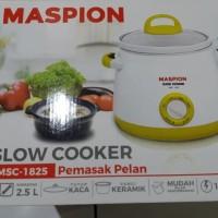 MASPION MSC 1825 SLOW COOKER 2.5 LITER