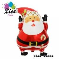 balon foil santa claus / balon merry christmas /balon natal/balon Xmas