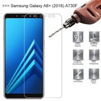 Samsung Galaxy A8+ 2018 / A8 Plus Temperred Glass / Anti Gores Kaca