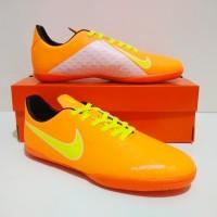 GRADE ORI SEPATU FUTSAL Nike Phantom VSN Vision IC (Orange White)