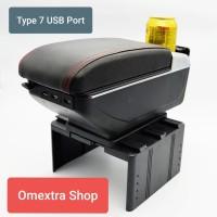 Armrest Box Ertiga Console Box ERTIGA R3 2018 - 2019 Khusus Cream