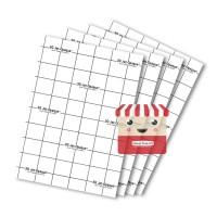 Transfer Paper 3G Opaque DARK SIZE A4 | 3G Opaque Bahan Gelap